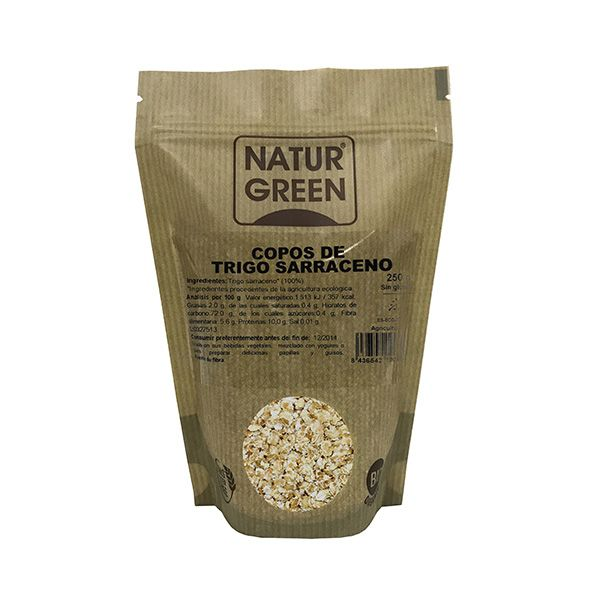copos trigo sarraceno naturgreen 250g