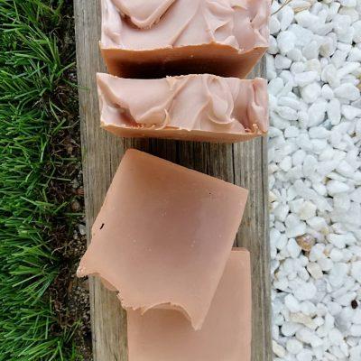 jabón natural arcilla roja