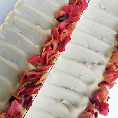 jabón natural de rosa de mosqueta