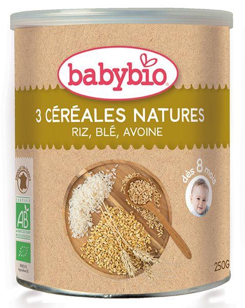 preparado 3 cereales baby